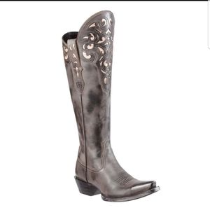 Ariat Hycienda brown cowboy boots